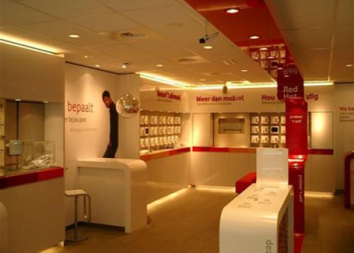 Inrichting van Vodafone winkels door heel Nederland. » Alwood ...